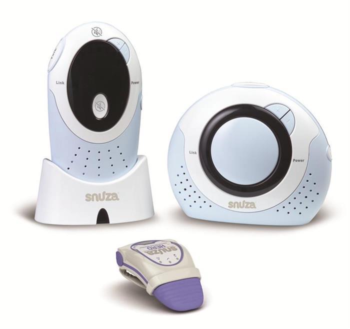 Snuza - Set de monitorizare a bebelusului bi-directional Duo, Snuza