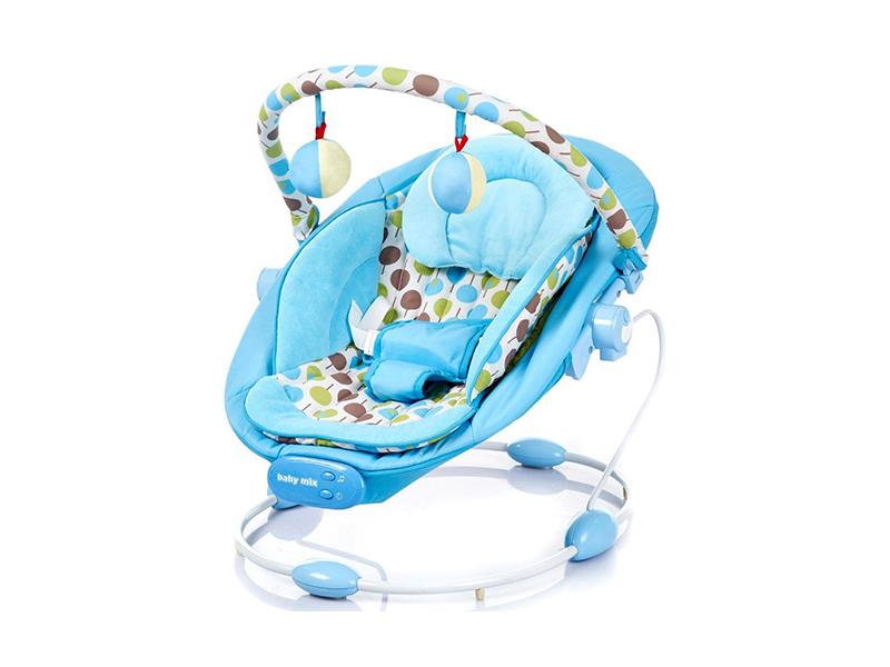 Balansoar muzical copii Baby Mix LCP BR245 007 Blue