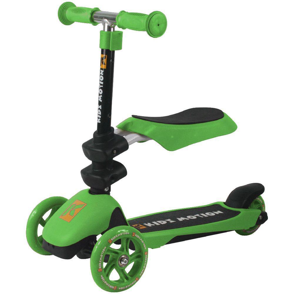 Trotineta reglabila 3 in 1 Motion - Kidz Motion - Verde