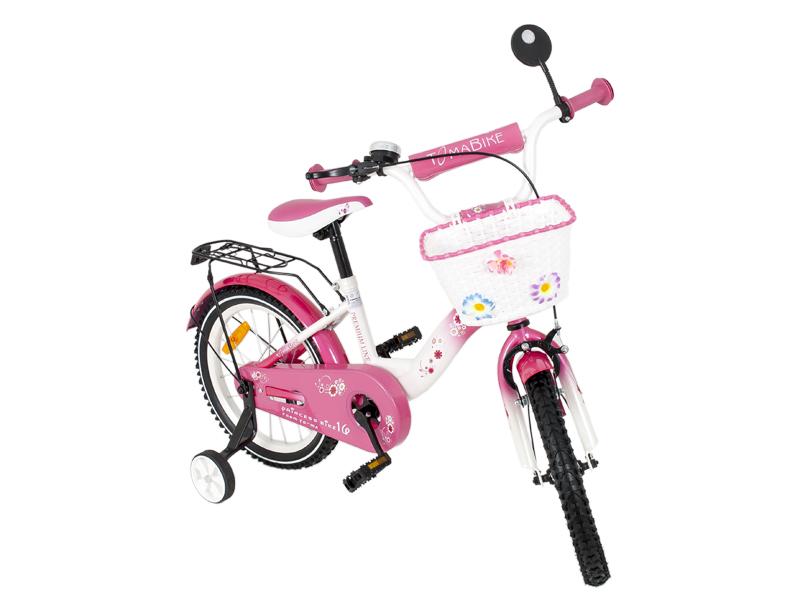 Bicicleta copii MyKids Toma Princess Pink 16