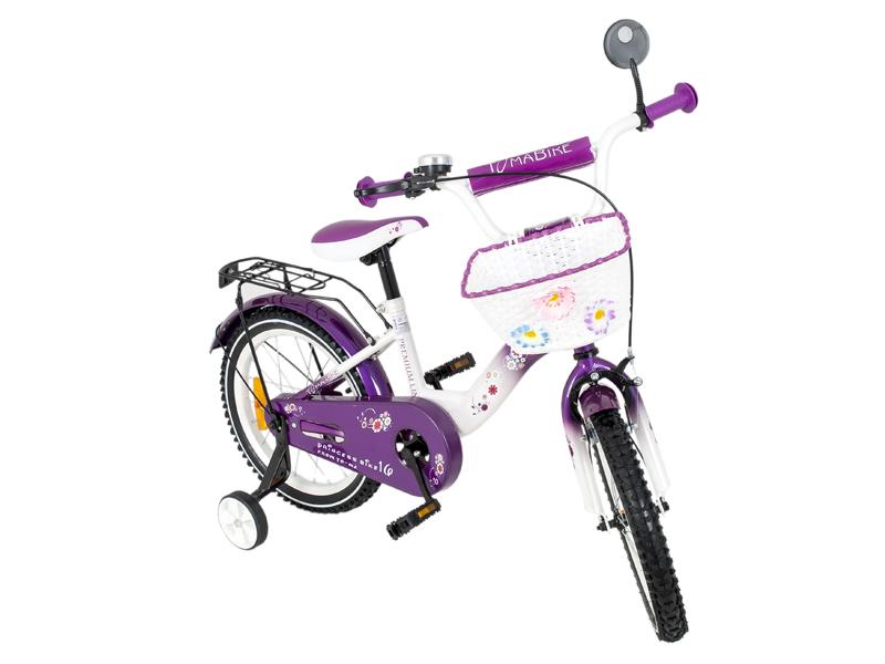 Bicicleta copii MyKids Toma Princess Violet 18