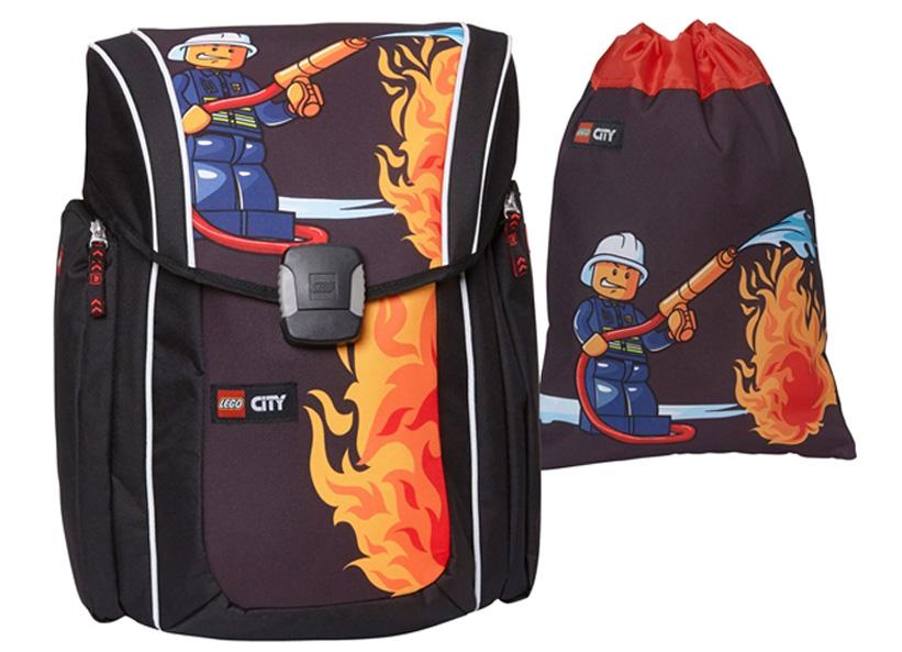 Ghiozdan Xtreme LEGO City cu sac sport (16151)