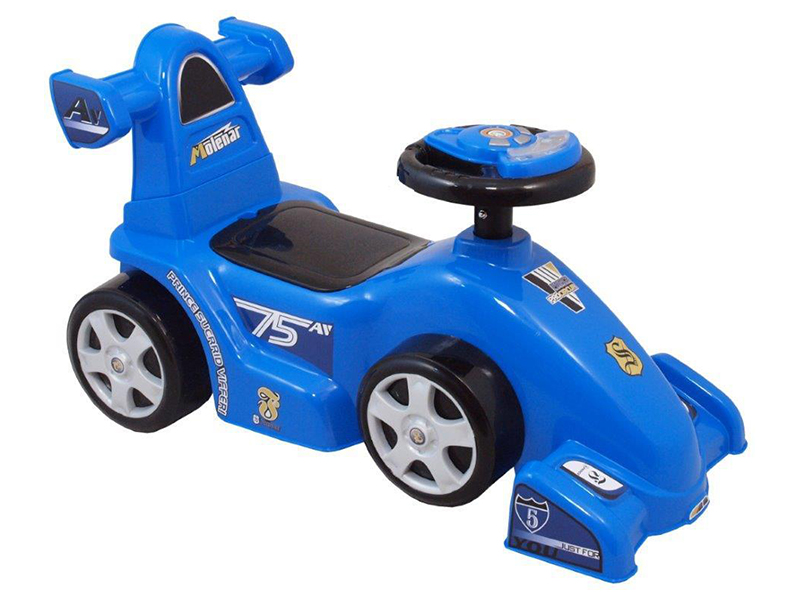 Masina de impins copii Baby Mix UR HZ601 W Car Bolid Blue