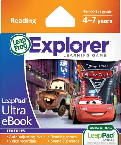 Soft educational LeapPad Cars 2