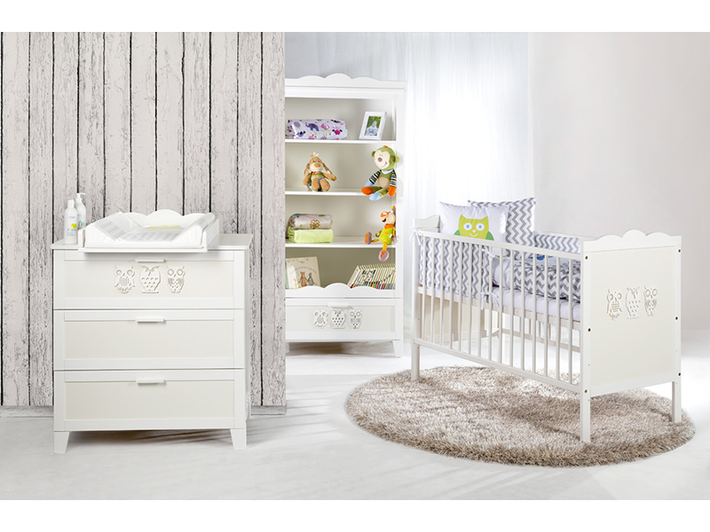 Mobilier camera copii si bebelusi Klups Marsell Bufnite