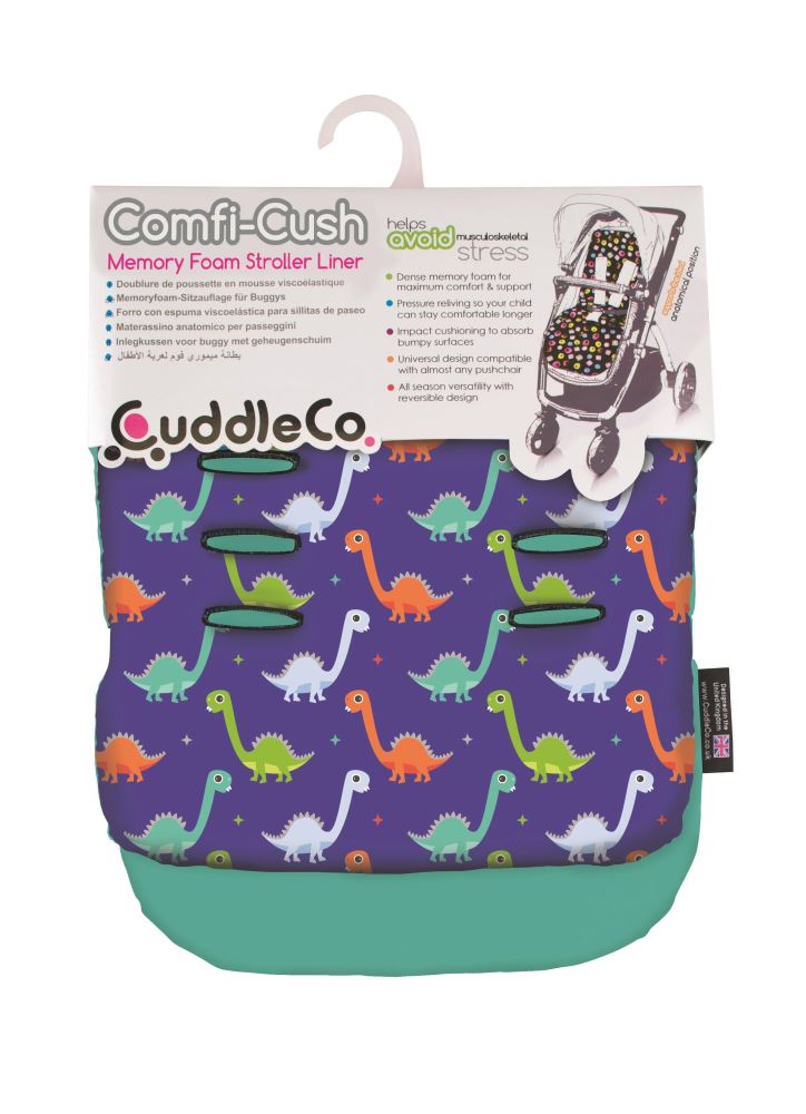 Saltea carucior Comfi-Cush Dinosaur Fun, 842650