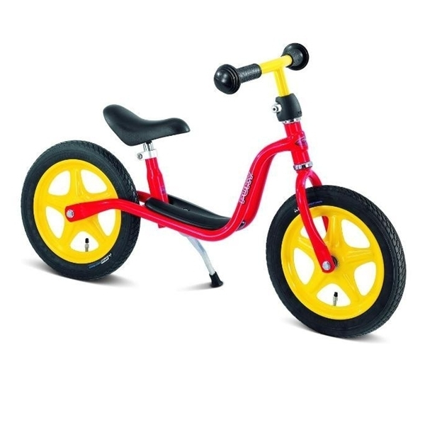 Bicicleta fara pedale, rosu, Puky