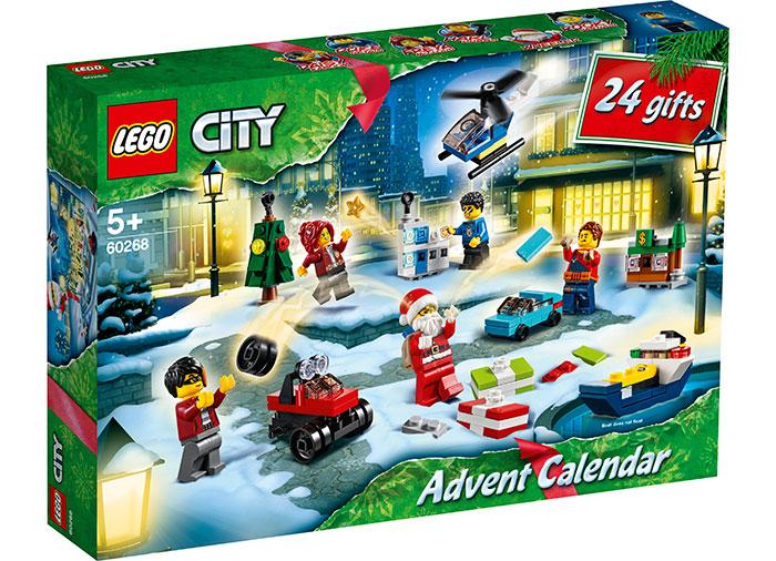 Calendar de Craciun LEGO City (60268)