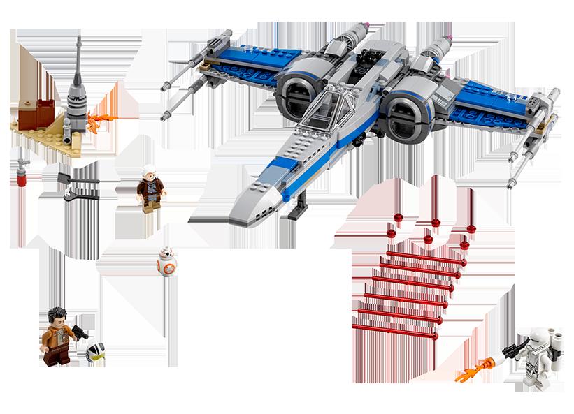 X-Wing Fighter(TM) al Rezistentei (75149)