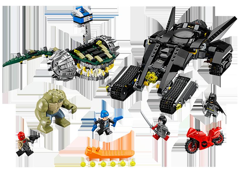 Batman(TM): Lovitura din canal Killer Croc(TM) (76055)