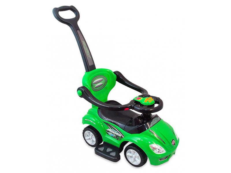 Masinuta de impins copii Baby Mix URZ382 2 in 1 Green