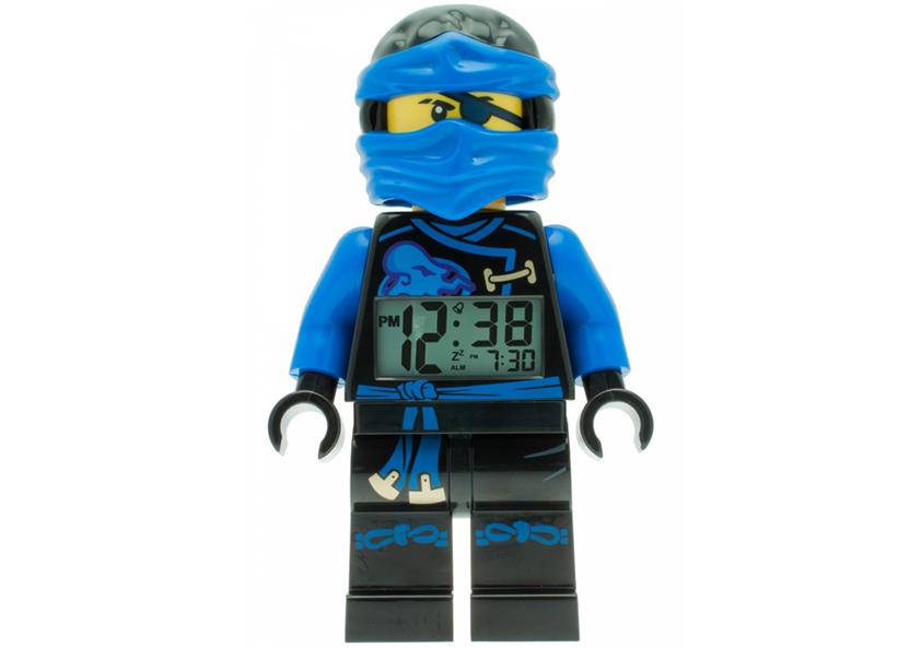Ceas desteptator LEGO Ninjago Jay (9009433)