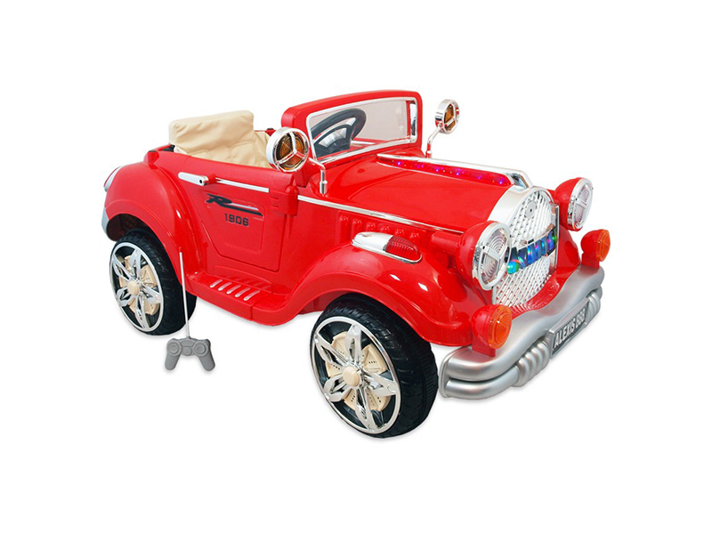 Masina electrica Retro Baby Mix KB20981 Red