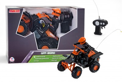 ATV cu telecomanda Quad si personaj