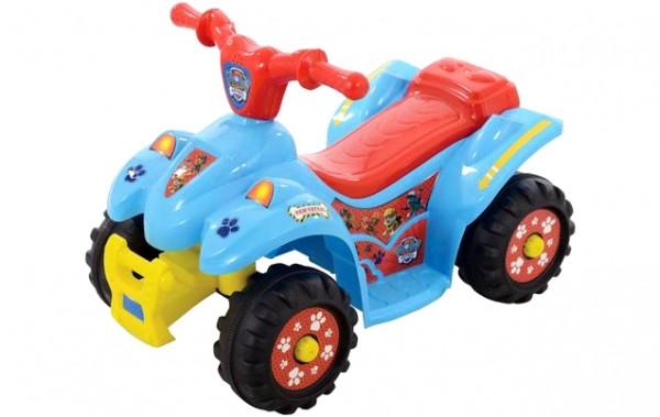 ATV electric cu acumulator 6V pentru copii Paw Patrol MVS