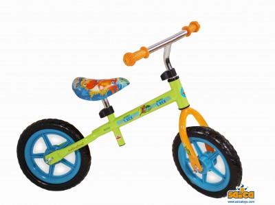 Bicicleta fara pedale copii Saica Dino Train