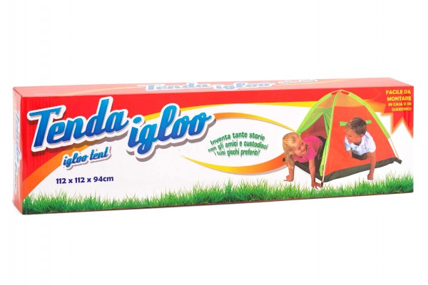 Cort pentru copii de joaca pentru interior sau exterior forma Iglu