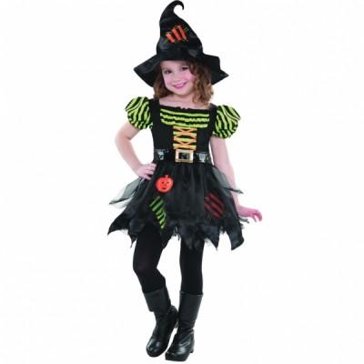 Costum Carnaval Copii Vrajitoare 4-6 ani