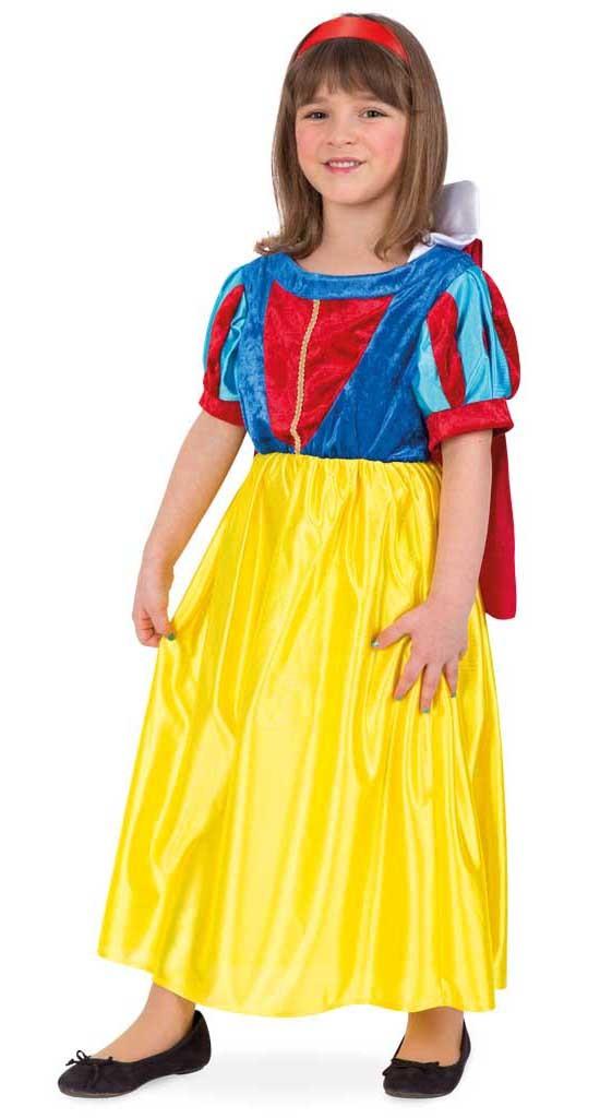 Costum pentru serbare Alba ca Zapada 116 cm