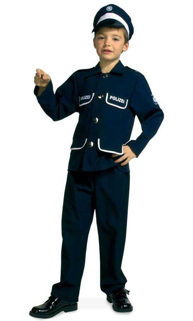 Costum pentru serbare Politist 116 cm