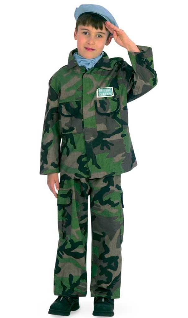 Costum pentru serbare Soldat 128 cm