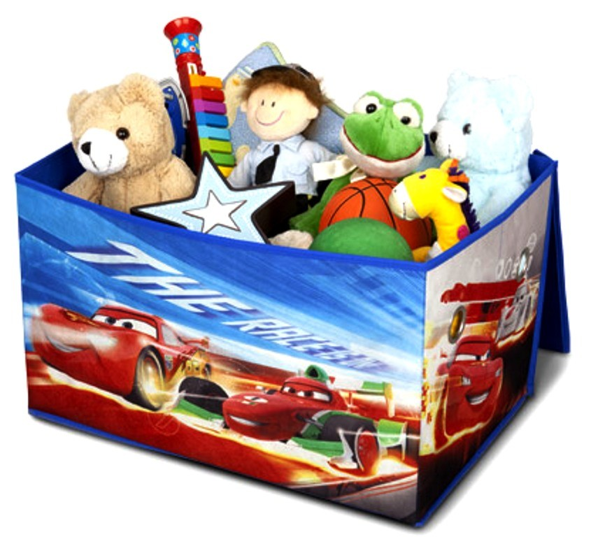 Cutie pentru depozitare jucarii Disney Cars