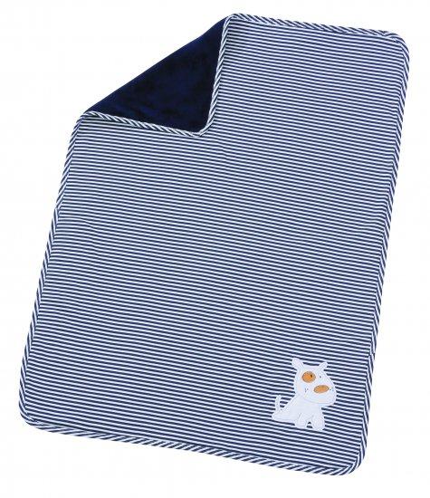 Paturica Bebe Stripes Navy