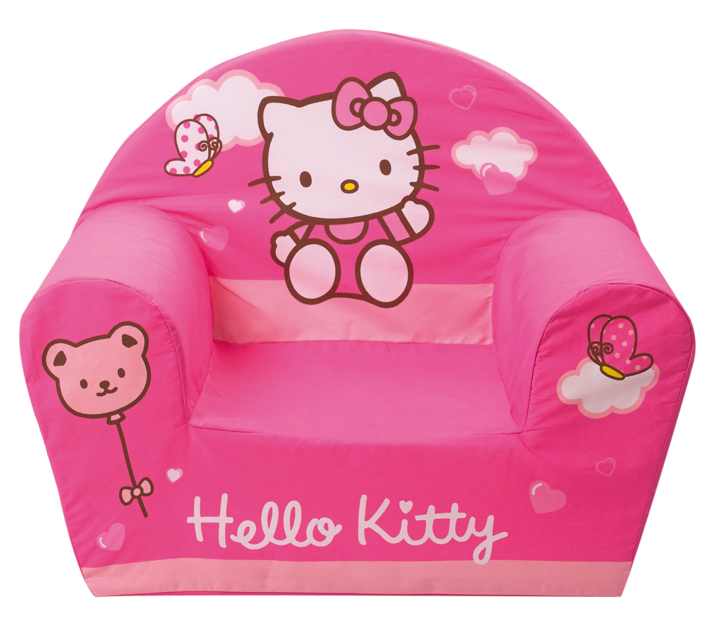 Fotoliu din burete Hello Kitty