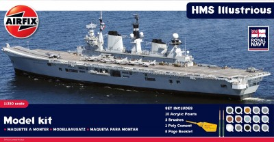 Kit constructie portavion HMS Illustrious