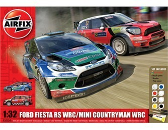 Kit constructie si pictura masina Ford Fiesta WRC si Mini Countryman