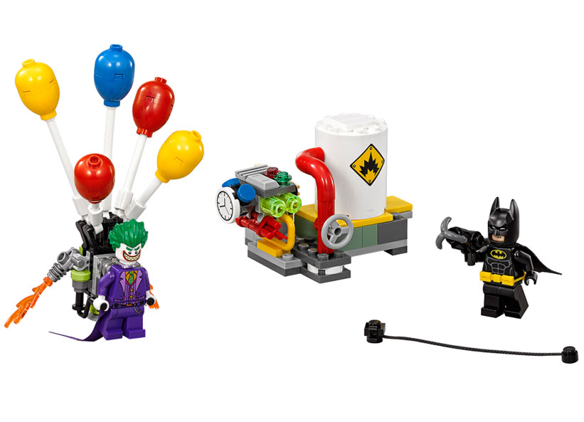 Evadarea lui Joker(TM) cu balonul (70900)