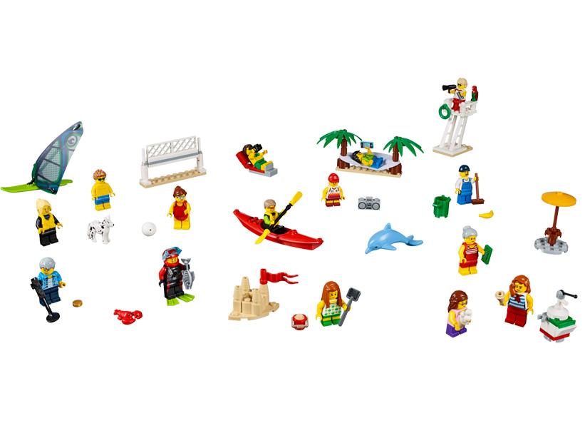 Comunitatea orasului - Distractie la plaja (60153)