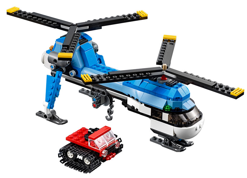 Elicopter cu rotor dublu (31049)
