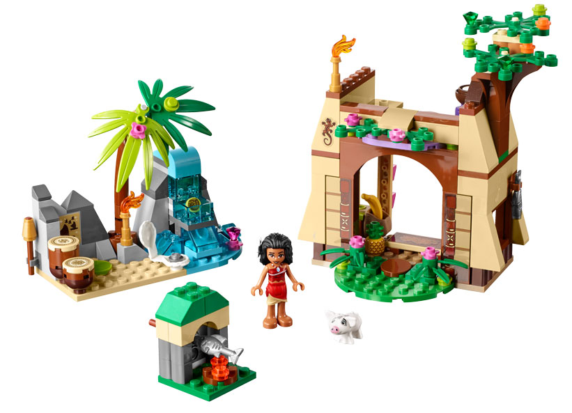 Vaiana si aventura ei de pe insula (41149)