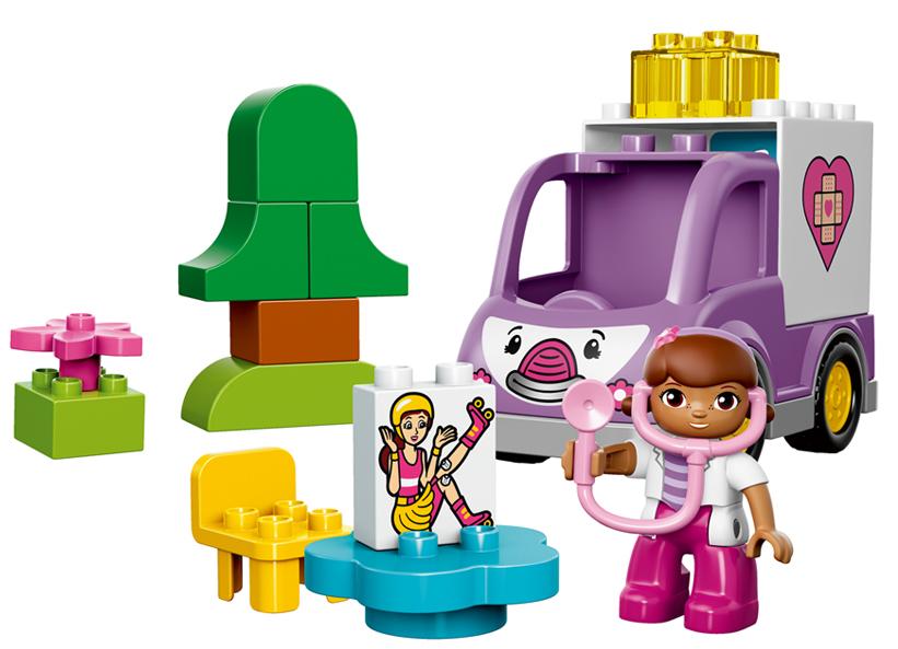 Ambulanta doctoritei Plusica LEGO DUPLO (10605)