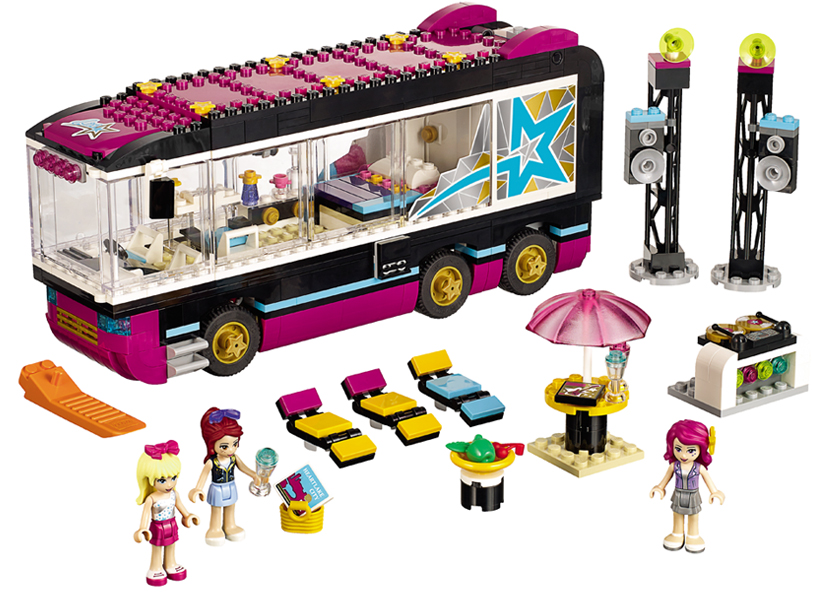 Autobuzul de turneu al vedetei pop (41106)