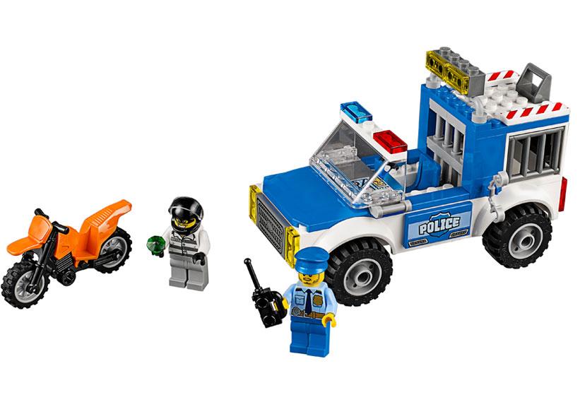 Urmarire cu camionul de politie (10735)