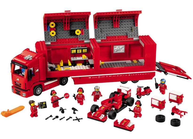 F14 T si camionul echipei Ferrari (75913)