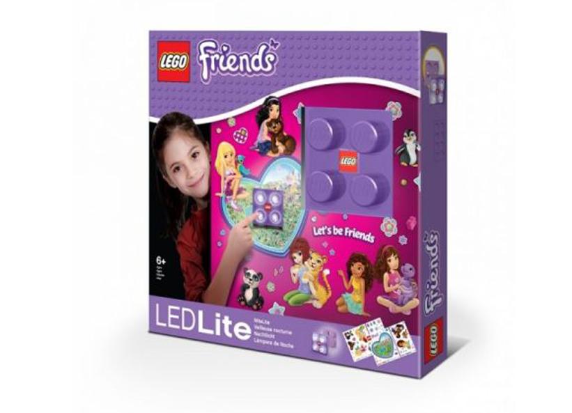 Lampa de veghe cu autocolante LEGO Friends
