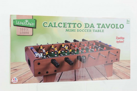 Masa de fotbal din lemn