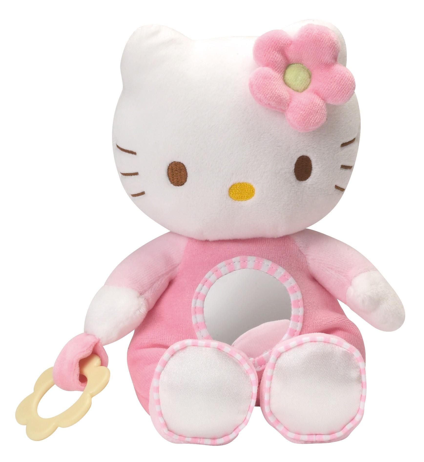 Mascota de plus Hello Kitty Flower
