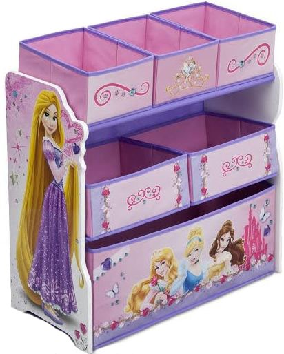 Organizator jucarii cu cadru din lemn Disney Princess Friendship