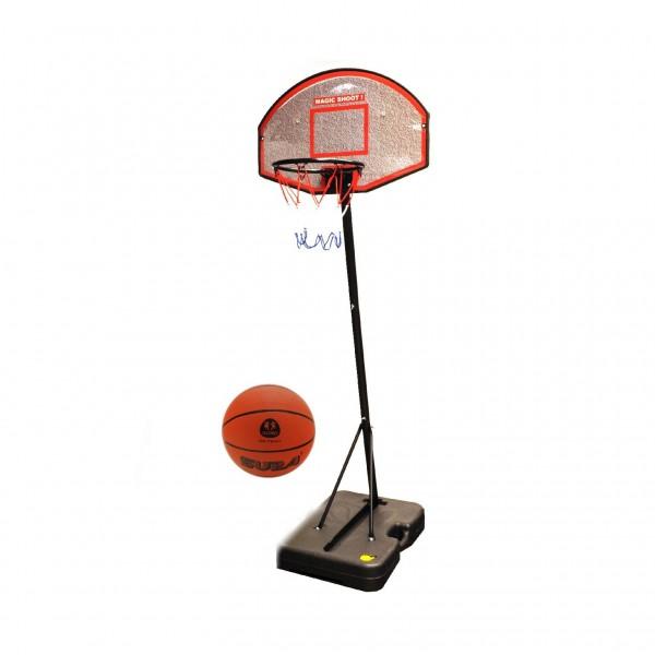Panou de baschet pentru copii si adulti Globo 37194 cu minge inclusa 188cm inaltime