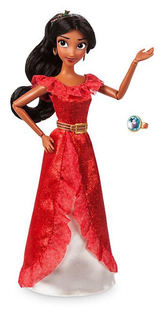 Papusa Printesa Disney Elena din Avalor cu inel