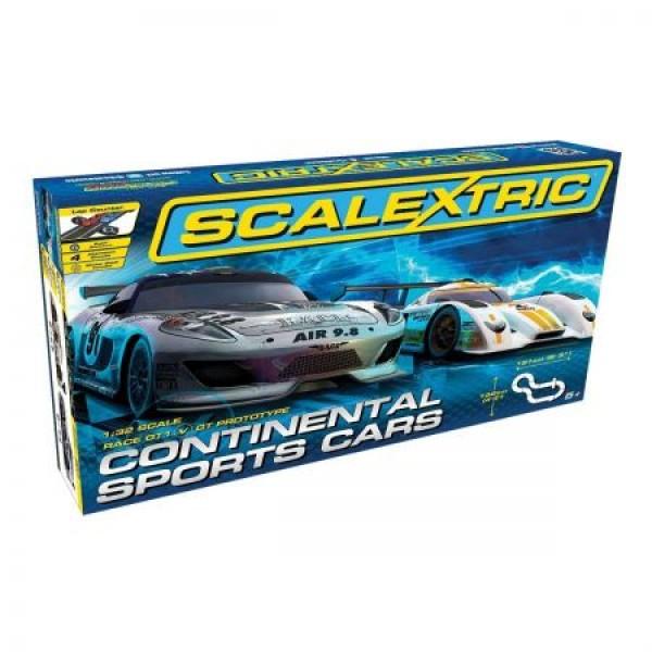 Pista masinute Continental Sports Cars Scalextric 1319 5m traseu masinute scara 1 32