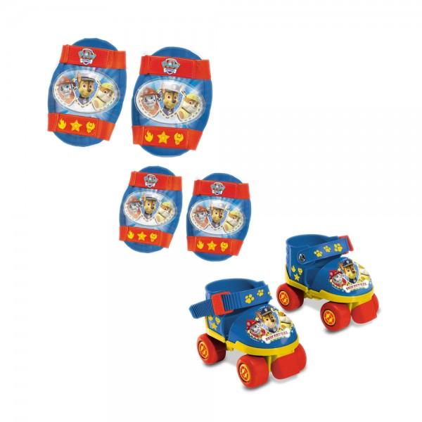 Role copii ajustabile Paw Patrol, 4 roti, cu protectii
