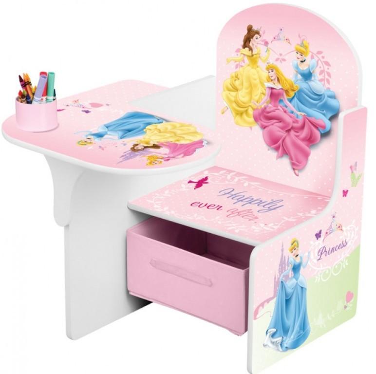 Scaun multifunctional din lemn Disney Princess