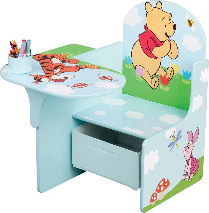 Scaun multifunctional din lemn Disney Winnie the Pooh