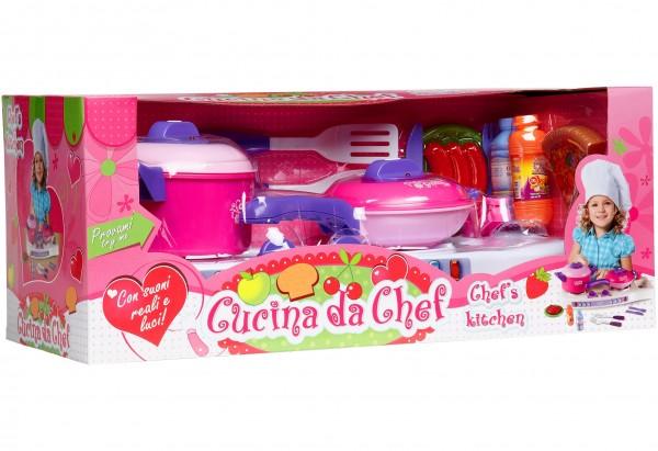 Set aragaz copii Globo cu oale si alte accesorii