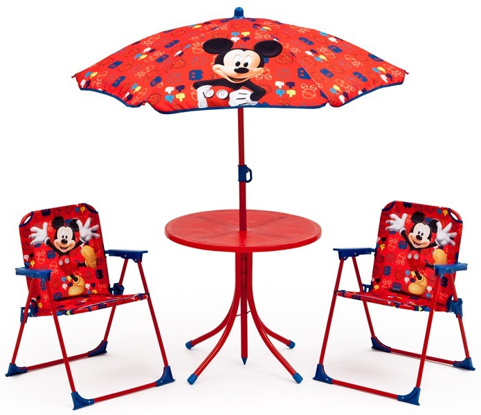 Set camping 4 piese Disney Mickey Mouse